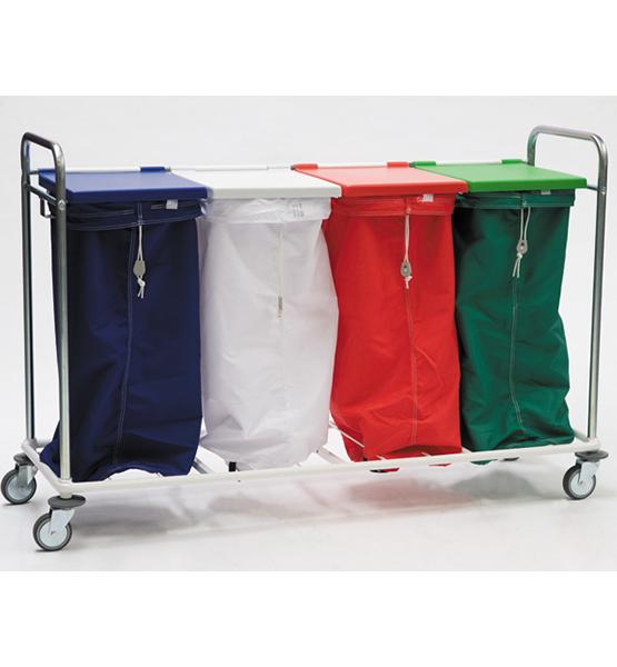 Chariots porte-sacs et Porte-sacs fil