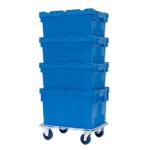 Embase roulante pour caisses plastique 400 x 600