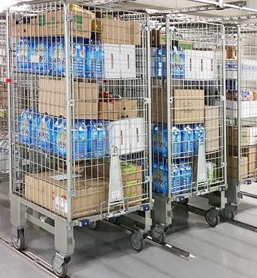 Roll logistique pour transport automatisé