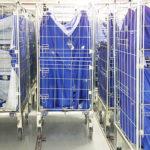 Roll blanchisserie pour transport automatisé
